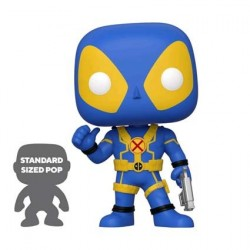 Pop! 25 cm Marvel Deadpool Thumbs Up Blue Limited Edition