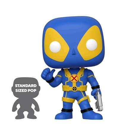 Figur Pop! 25 cm Marvel Deadpool Thumbs Up Blue Limited Edition Funko Online Shop Switzerland