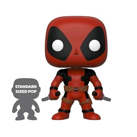 Figur Pop! 25 cm Marvel Deadpool Two Swords Red Limited Edition Funko Online Shop Switzerland