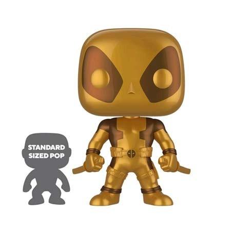 Figur Pop! 25 cm Marvel Deadpool Two Swords Gold Limited Edition Funko Online Shop Switzerland