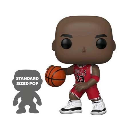 Figur Pop! 25 cm Basketball NBA Bulls Michael Jordan Red Jersey Funko Online Shop Switzerland