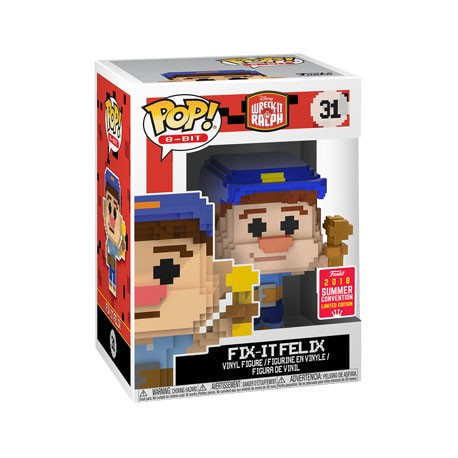 Figur Pop! SDCC 2018 Disney Wreck it Ralph Fix It Felix 8-Bit Limited Edition Funko Online Shop Switzerland