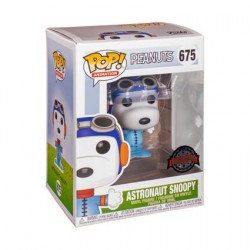 Pop! Peanuts Snoopy as Astronaut No Helmet Limited Edition