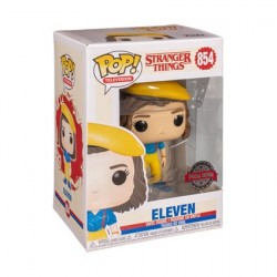 Pop! Stranger Things Eleven in Yellow Outfit Limited Edition