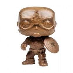 Pop! Marvel Captain America Wood Deco Limited Edition