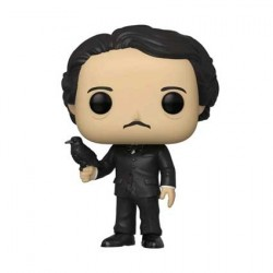 Pop! Icons Edgar Allan Poe with Raven Limited Edition