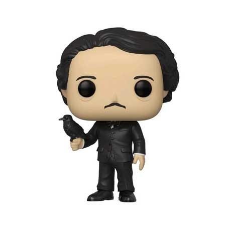 Figurine Pop! Icons Edgar Allan Poe with Raven Limited Edition Funko Boutique en Ligne Suisse