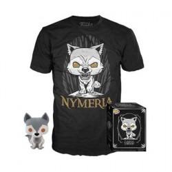 Figurine Pop! et T-shirt Game of Thrones Nymeria Edition Limitée Funko Boutique en Ligne Suisse