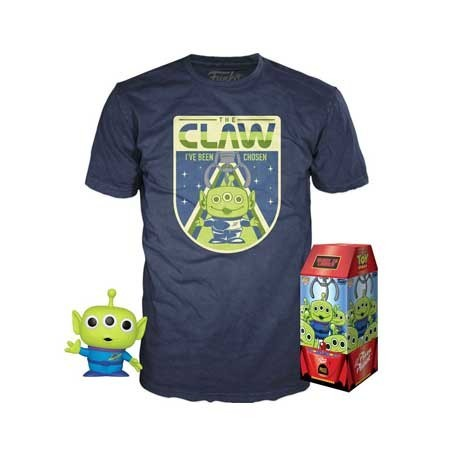 Figur Pop! and T-shirt Toy Story The Claw Limited edition Funko Online Shop Switzerland