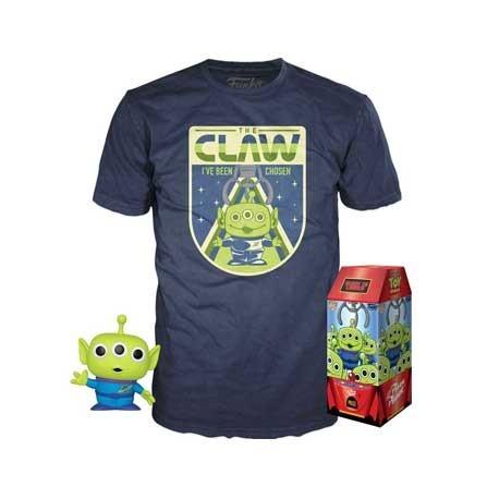 Figurine Pop! et T-shirt Toy Story The Claw Edition Limitée Funko Boutique en Ligne Suisse