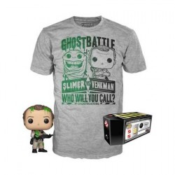 Figur Pop! and T-shirt SOS Fantômes Dr. Peter Venkman Limited edition Funko Online Shop Switzerland