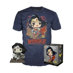 Pop! and T-shirt DC Comics Wonder Woman Limited edition
