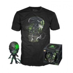 Figur Pop! and T-shirt Alien 40th Xenomorph Limited edition Funko Online Shop Switzerland