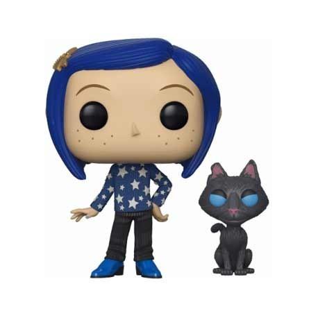 Figur Pop! Coraline with Cat buddy (Rare) Funko Online Shop Switzerland