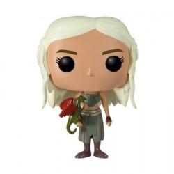 Figurine Pop! Game of Thrones Daenerys Targaryen (Rare) Funko Boutique en Ligne Suisse