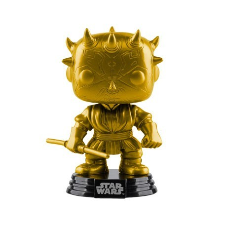 Figur Pop! Star Wars Darth Maul Metallic Gold limited edition Funko Online Shop Switzerland