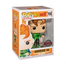 Figur Pop! Metallic Dragon Ball Z Android 16 Limited Edition Funko Online Shop Switzerland