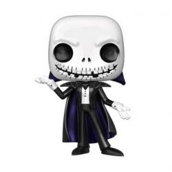 Figurine Pop! Métallique L'Étrange Noël de Mr Jack Jack Vampire Edition Limitée Funko Boutique en Ligne Suisse