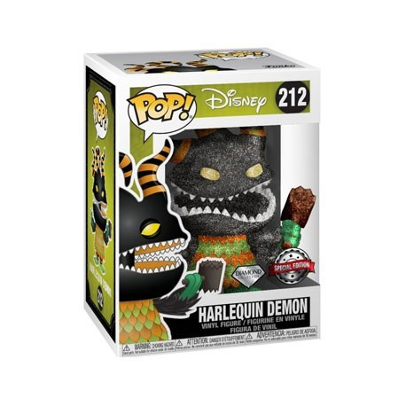 Figur Pop! Diamond The Nightmare Before Christmas Harlequin Demon Limited Edition Funko Online Shop Switzerland