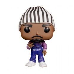 Pop! Rap 2Pac Tupac Shakur in Thug Life Overalls Limited Edition