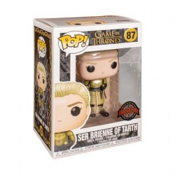 Figurine Pop! Game of Thrones Ser Brienne of Tarth Edition Limitée Funko Boutique en Ligne Suisse