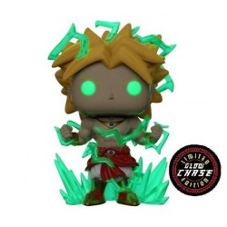 Figur Pop! 15 cm Glow in the Dark Dragon Ball Z Super Saiyan 2 Broly Chase Limited Edition Funko Online Shop Switzerland