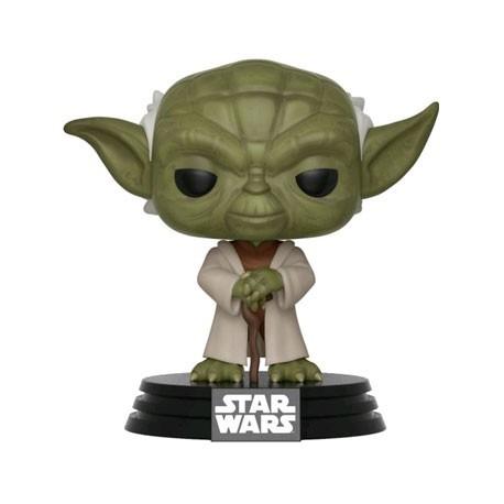 Star Wars Vinyl-FUN31799 Yoda Pop Clone Wars