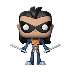 Figur Pop! Teen Titans Go! Robin as Nightwing with Baby limited edition Funko Online Shop Switzerland