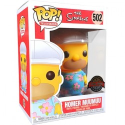 Pop! The Simpsons Homer in Muumuu Limited Edition