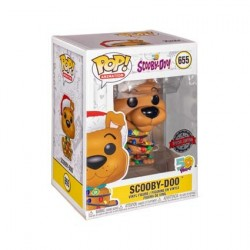 Figurine Pop! Scooby-Doo avec Christmas Lights Edition Limitée Funko Boutique en Ligne Suisse