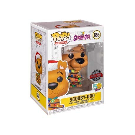 Figur Pop! Scooby-Doo with Christmas Lights Limited Edition Funko Online Shop Switzerland