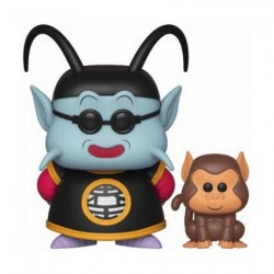 Figur Pop! Dragon Ball Z King Kai and Bubbles (Rare) Funko Online Shop Switzerland