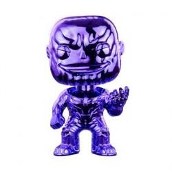 Figurine Pop! Avengers Infinity War Thanos Purple V2 Chrome Edition Limitée Funko Boutique en Ligne Suisse