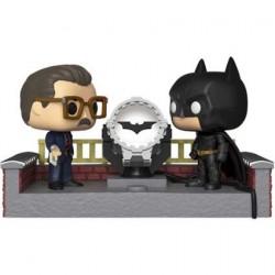 Figurine Pop! avec Led Movie Moment Batman 80th white Light Up Bat Signal Funko Boutique en Ligne Suisse