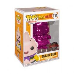 Figurine Pop! Dragon Ball Z Pink Chrome Majin Buu Edition Limitée Funko Boutique en Ligne Suisse