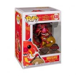 Figur Pop! Disney Diamond Mulan Mushu with Gong Glitter Limited Edition Funko Online Shop Switzerland
