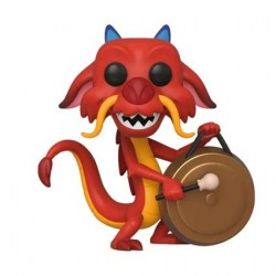 Figur Pop! Disney Mulan Mushu with Gong Funko Online Shop Switzerland