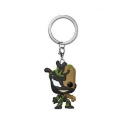 Figurine Pop! Pocket Porte-clés Venom Venomized Baby Groot Funko Boutique en Ligne Suisse