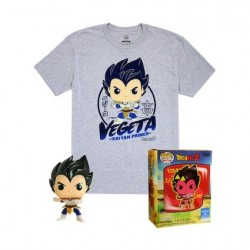 Figur Pop! and T-shirt Dragon Ball Z Vegeta Metallic Limited edition Funko Online Shop Switzerland