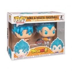 Figurine Pop! Dragon Ball Super Goku et Vegeta Baseball 2-pack Edition Limitée Funko Boutique en Ligne Suisse