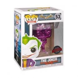 Figurine Pop! Batman Arkham Asylum The Joker Purple Chrome Edition Limitée Funko Boutique en Ligne Suisse