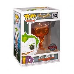 Figurine Pop! Batman Arkham Asylum The Joker Orange Chrome Edition Limitée Funko Boutique en Ligne Suisse