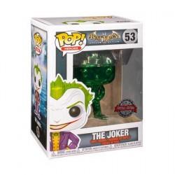 Figurine Pop! Batman Arkham Asylum The Joker Green Chrome Edition Limitée Funko Boutique en Ligne Suisse