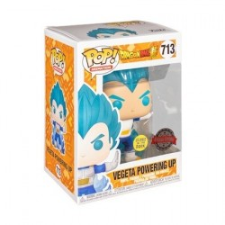 Figur Pop! Glow in the Dark Dragon Ball Z Vegeta Powering Up Limited Edition Funko Online Shop Switzerland