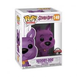 Figurine Pop! Scooby Doo Purple Flocké Edition Limitée Funko Boutique en Ligne Suisse