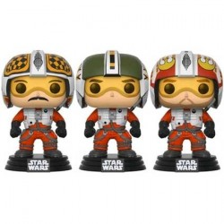Figur Pop! Star Wars Red Squadron Wedge Biggs & Porkins 3-Pack Limited Edition Funko Online Shop Switzerland