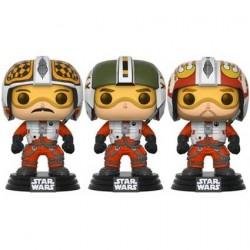Figur Pop! Star Wars Red Squadron Wedge Biggs & Porkins 3-Pack Limited Edition Funko Online Shop Switzerland