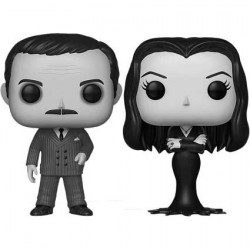 Figur Pop! The Addams Family 1964 Gomez et Morticia Addams Black and White 2-Pack Limited Edition Funko Online Shop Switzerland