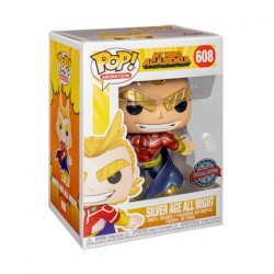 Figurine Pop! Métallique My Hero Academia All Might Edition Limitée Funko Boutique en Ligne Suisse