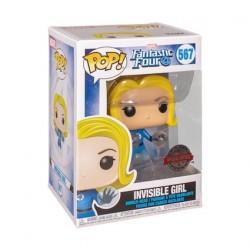 Figur Pop! Fantastic Four Invisible Girl Translucent Limited Edition Funko Online Shop Switzerland